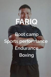 find trainer in singapore