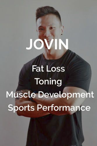 Jovin Personal Trainer SG