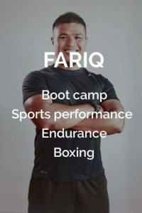 Fariq Personal Trainer SG