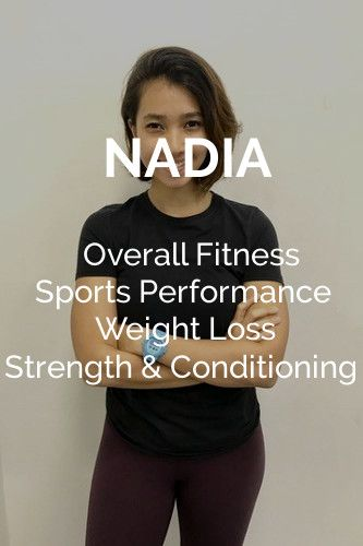 Nadia Female Trainer